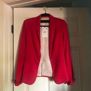 Zara pink blazer Sz S